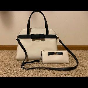 Kate spade purse/wallet combo